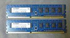 2gb KIT Elpida ebj10ue8bdf0-dj-f ddr3 pc3-10600u NON-ECC Desktop Memory Ram