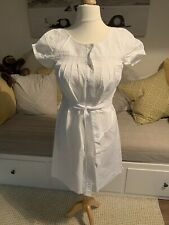 Women's Gap White Dress Size 8 Knee Length
