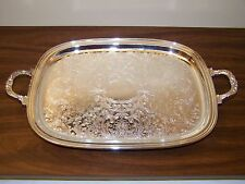 Vintage Gorham Newport Silverplate Footed Tray ALVIN EP K638 - New - Please Read