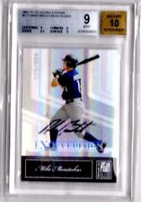 2007 Elite EXTRA EDITION Mike Moustakas Auto RC #/999 BGS 9 MINT KC Royals