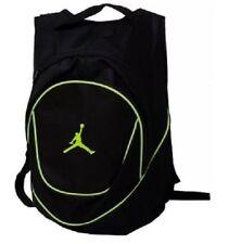 Nike Jordan Jumpman 23 Round Shell Backpacks - Black Yellow