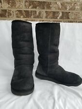 UGG Classic Tall Boots Black Size 9