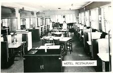 Vandalia OH Juke Box Interior~Motel Restaurant~Owner/Waitresses 1940s RPPC