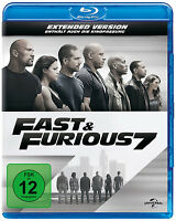 Blu-ray * FAST & FURIOUS 7 - EXTENDED VERSION # NEU OVP +