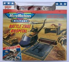 Micro Machines Military Hospital w/ 3 military vehicles - MINT IN SEALED BOX !!!