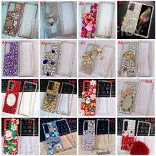 For Galaxy Z Fold 3 5G Case / Z fold 2 5G Case Bling Diamond Sparkly Hard Cover