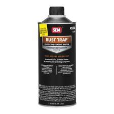 SEM 45504 Black Rust Trap Protective Restoration Urethane Coating (Quart)