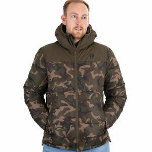 Fox Camo Khaki RS Jacket Thermal Insulation Fishing Coat SIZE XL