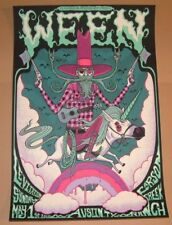 Ween Jim Mazza Austin Poster Print Signed Numbered Art Levitation Festival 2016