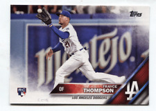 2016 Topps Update Series SP Variation RC #US190 Trayce Thompson Dodgers
