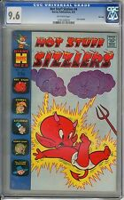 Hot Stuff Sizzlers  #4  CGC  9.6  NM+   off - white pages