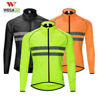 Cycling Jackets Giacca da ciclismo Cappotto riflettente antivento per bicicletta