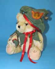 Court Jester Teddy Bear jointed handcrafted unique by unknown artist