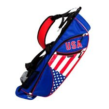 NEW Northern Spirit Golf USA Sunday / Carry Bag Red / White / Blue