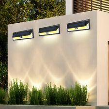 180 LED Solar Powered Motion Sensor Wall Security Light Lamp Garden Outdoor