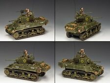 KING & COUNTRY D DAY DD223 BRITISH M3A3 STUART LIGHT TANK SET MIB