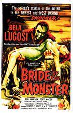 Novia de la etiqueta engomada del vinilo Monstruo Bela Lugosi B-Movie Monster Vampiro Horror