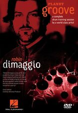 Robin Dimaggio Planet Groove A Complete Drum Training Session New 000320826