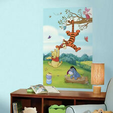 WINNIE THE POOH & friends wall stickers MURAL decals Tigger Eeyore Piglet Disney