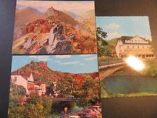 3 Postkarten farbig Altenahr/Ahrweiler farbig 1960er Jahre unbeschrieben Cramer