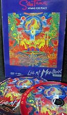 Santana - Hymns for Peace: Live at Montreux 2004 NEW! 2 DVD, Concert,Chick Corea