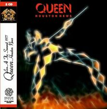 QUEEN - Houston News: Live in Houston, TX 1977 (mini LP / 2x CD) SBD world tour