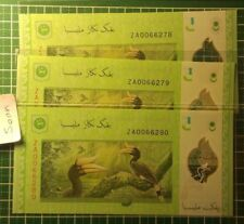 Malaysia RM5 12th ZA00  replacement UNC++ 3 running numbers