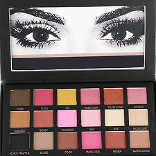 Best 18 Colors Eyeshadow Textured Pallete Faced Matte Make up Eye Shadow Palette