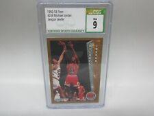 1992-93 Fleer Michael Jordan #238 CSG 9 MINT