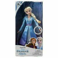 Brand New Disney Frozen 2 Singing Elsa Classic Doll 30cm