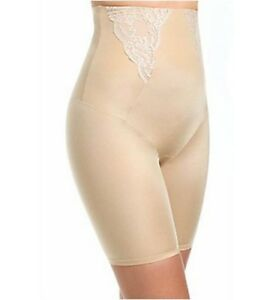 Maidenform Women's Nude Firm Control High Waist Thigh Slimmer Size L