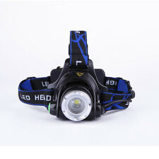 12000LM XML T6 LED Zoomable Headlamp Rechargeable Head Light Torch Night Lantern