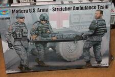 NEW Trumpeter (00430): Modern US Army: Stretcher Ambulance Team au 1/35