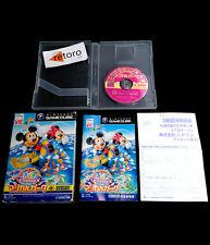DISNEY MAGICAL PARK Nintendo Gamecube JAP MICKEY DISNEY'S Hudson Complete