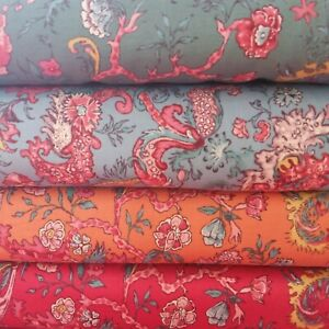 Dutch Heritage Cotton Fabric, DHER 2051 per FQ 110cm wide, Ideal for Quilting
