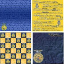 Future Farmers of America FFA Scrapbook Papers CHOOSE FROM 24 styles
