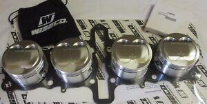 Fits Suzuki GSXR1100 GSF1200 1216cc Big Bore Wiseco piston kit.
