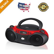 Cd Player Portable Boom Box Mp3 Audio Sports Stereo Am Fm Radio Sound Machine