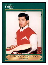 1991 Horse Star Jockey Cards Antonio Castanon #56