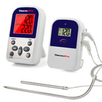 ThermoPro Digital Wireless Cooking Meat Thermometer For BBQ Oven Grill Smoker