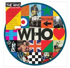 THE WHO - WHO - PICTURE DISC VINYL LP LIMITED EDITION