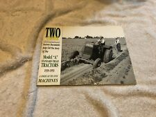 Two- cylinder magazine nov-dec 2000,model A standard tread tractors