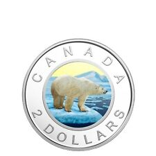 2018 Canada Gold-plated Coloured Toonie .9999 Silver Proof $2 Dollar Coin