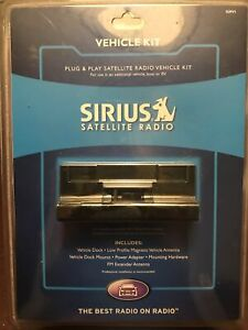 *NEW* Sirius SUPV1 Vehicle Kit: Sportster/Starmate/Stratus - Dock/Antenna/Mounts