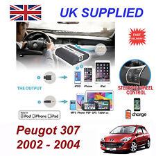 POUR PEUGEOT 307 iPhone 5 6 7 8 se 10 mp3 AUX audio numérique changeur CD Module RD3