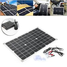 Mono Sunpower 18V 20W Flexible Solar Panel Battery Charger Motorhomes Boats Roof