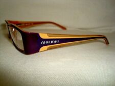 MIU MIU PURPLE FRAME GLASSES VMU01D 5BY-101 52-16 130 ex display