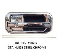 Daf XF 95 105-106 Series Chrome Door Handle Cover Formed 3D S.Steel 2 doors