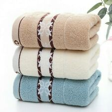 Jacquard Cotton Face Hand Towels Soft Dry Quick Washcloth Shower Towels
