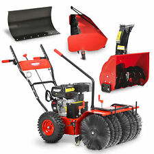 Hecht 8616 se Kombi Gerät Kehrmaschine und Schneefräse mit Elektro Starter